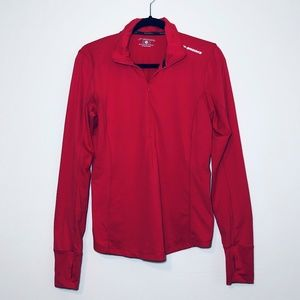 Brooks Coral / Pink Run Happy Long Sleeve Pullover